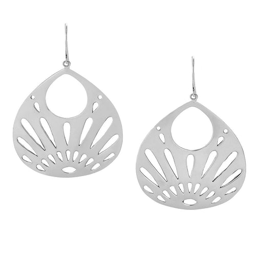 Shine Your Light Earrings in Sterling Silver | Jewelry Evolution8 | Handcrafted Jewelry