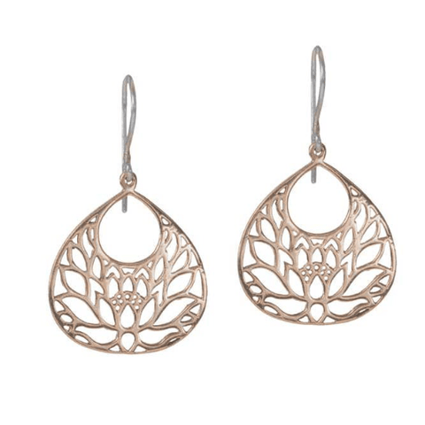 JOY Small Earrings in Bronze