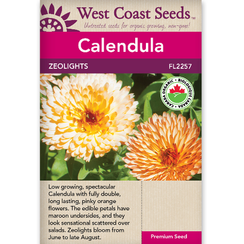 Calendula Zeolights - West Coast Seeds
