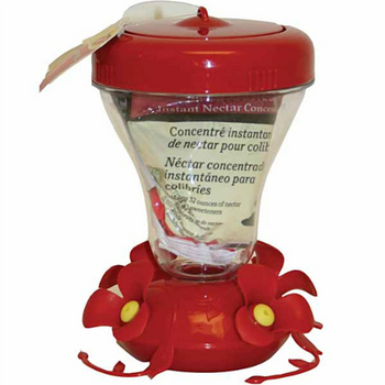 Top-Fill Hummingbird Feeder with Free Nectar