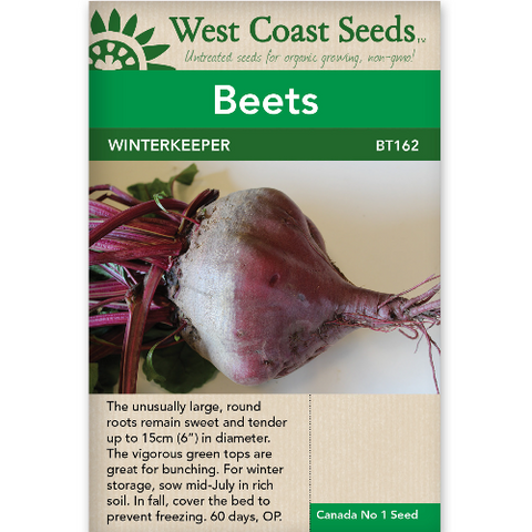 Beets Winterkeeper - West Coast Seeds
