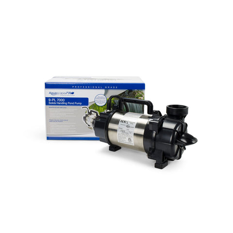 PL & PN Solids-Handling Pond Pumps