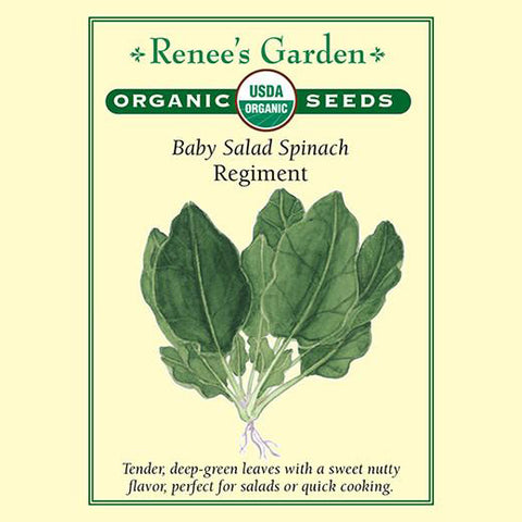 Spinach Regiment Organic - Renee's Garden