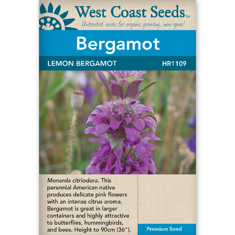 Bergamot Lemon - West Coast Seeds