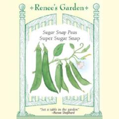 Snap Peas Super Sugar Snap - Renee's Garden