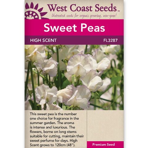 Sweet Peas High Scent - West Coast Seeds