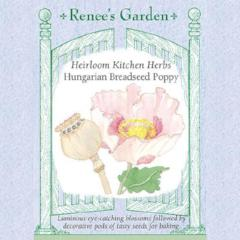 Poppy Hungarian Breadseed - Renee's Garden
