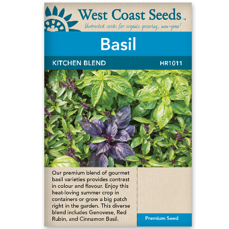 Basil Kitchen Blend - West Coast Seeds