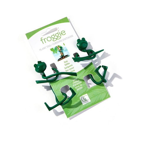 Frog Plant Ties - Set of 2