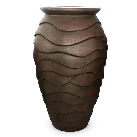Medium Scalloped Urn