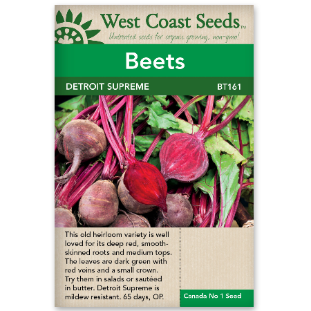 Beets Detroit Supreme - West Coast Seeds