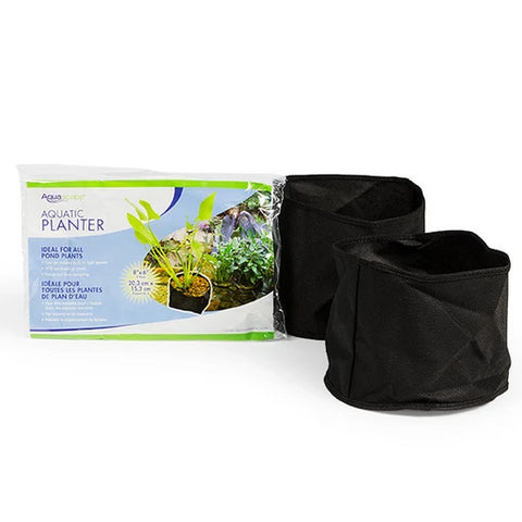 "Fabric Plant Pot 8"" Round x 6"" Deep (2 Pack)"