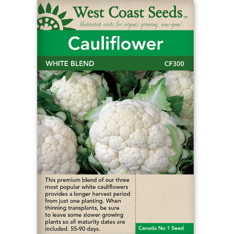 Cauliflower White Blend - West Coast Seeds