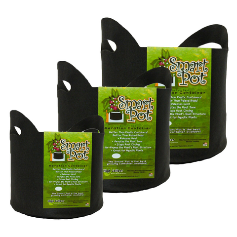 Smart Pots Variety Pack - 3 Sizes