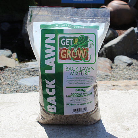 Get Up & Grow Back Lawn Grass Seed