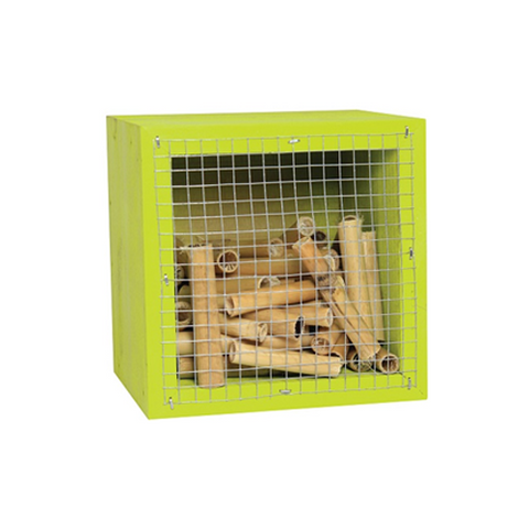 Cube Wood Habitat House Insect House Bee