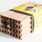 Natural Wooden Bee Nests 28 Bee Diverse