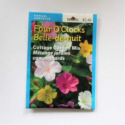 Four O'Clocks Cottage Garden Mix - Burpee Seeds