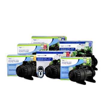 AquaSurge and AquaSurge Adjustable Flow Pond Pumps