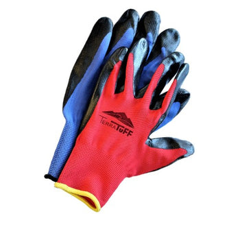 TerraTuff Nitrile & Nylon Gloves