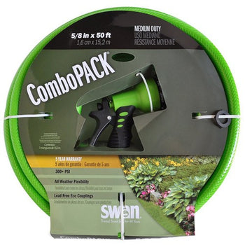 Hose Combo Pack 50' 5/8""