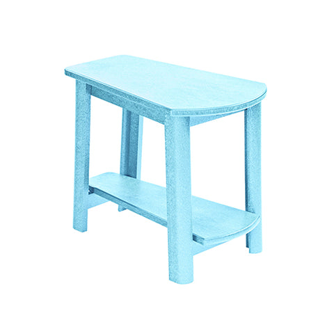 T04 Addy Side Table Aqua | CR PLASTICS