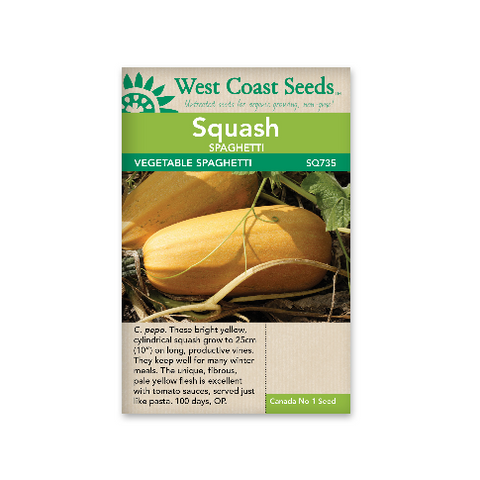Squash Spaghetti - West Coast Seeds