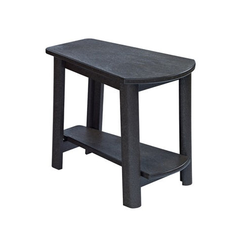 CR PLASTICS T04 ADDY SIDE TABLE BLACK