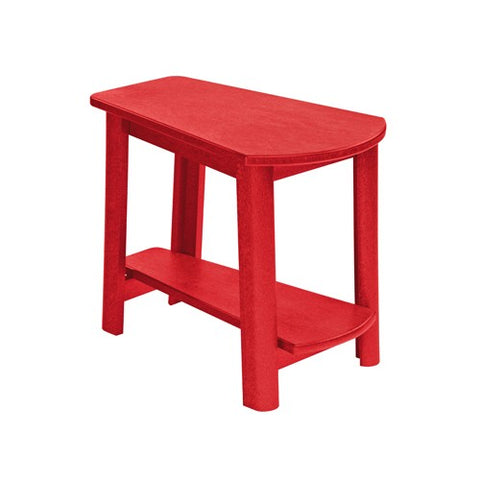CR PLASTICS T04 ADDY SIDE TABLE RED