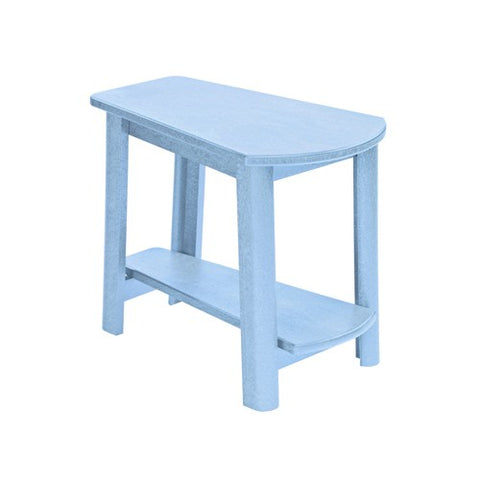 CR PLASTICS T04 ADDY SIDE TABLE SKY BLUE