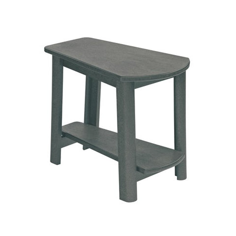CR PLASTICS T04 ADDY SIDE TABLE SLATE GREY