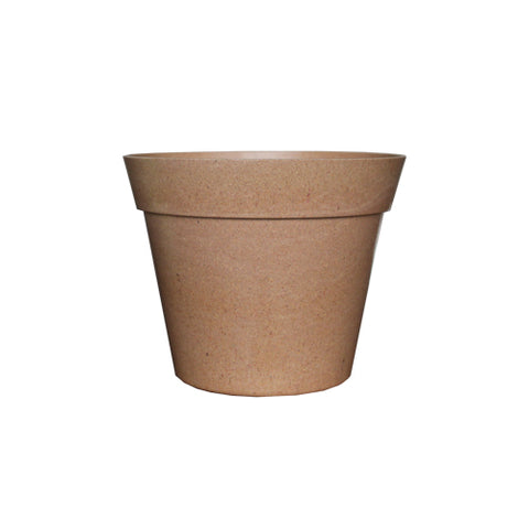 tan biodegradable pot
