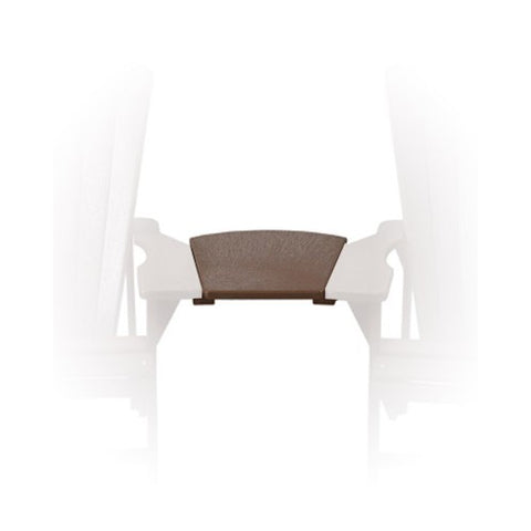 A10 Arm Table Chocolate Chocolate | CR PLASTICS Outdoor Furniture