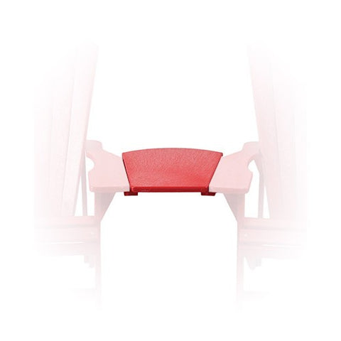A10 Arm Table Red | CR PLASTICS Outdoor Furniture