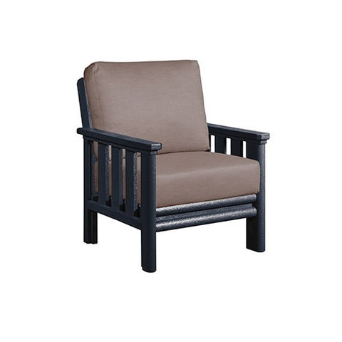 DSF141 Arm Chair and Cushions - Standard