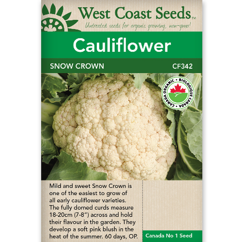 Cauliflower Snow Crown - West Coast Seeds