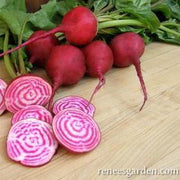 Beets Traditional Chioggia - Renee's Garden