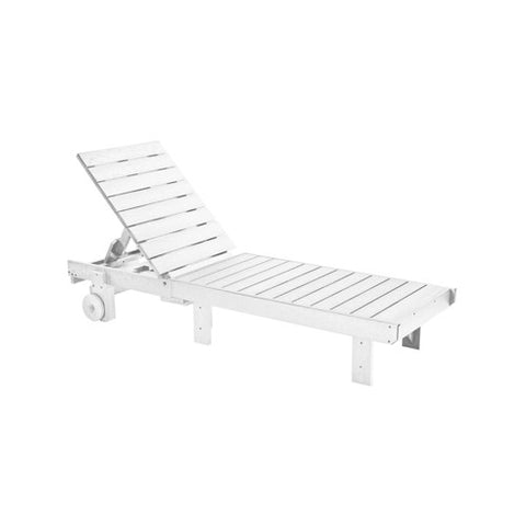L78 CHAISE LOUNGE (with wheels) WHITE 02