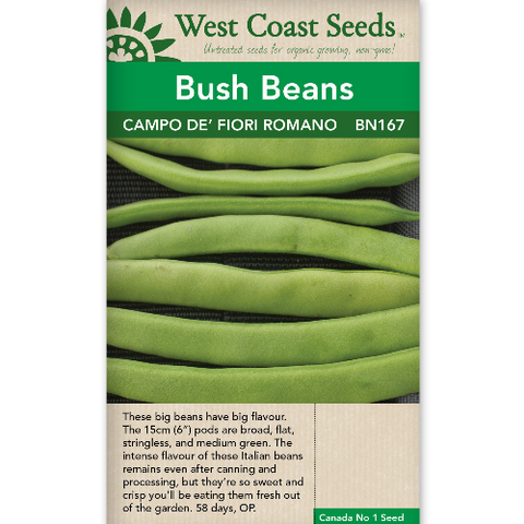 Bean Campo de' Fiori - West Coast Seeds