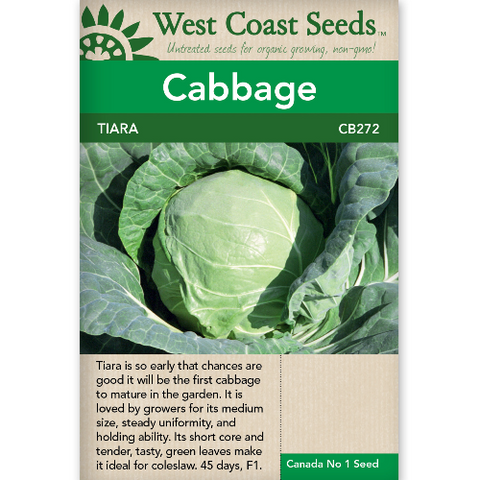 Cabbage Tiara - West Coast Seeds