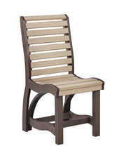 C35 DINING SIDE CHAIR CHOCOLATE BEIGE