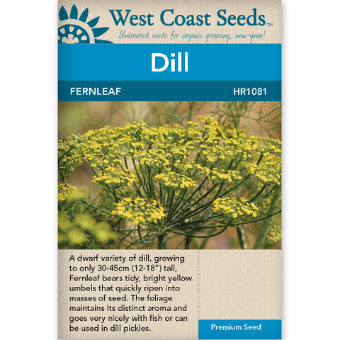 Dill Fernleaf - West Coast Seeds