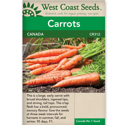 Carrots Canada - West Coast Seeds