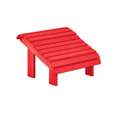 CR PLASTICS F04 PREMIUM FOOTSTOOL RED
