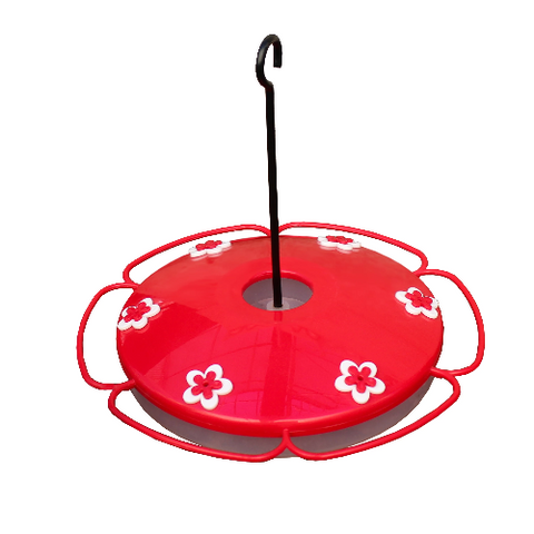 Hummingbird tray feeder