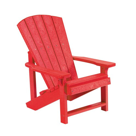 CR PLASTICS C08 KIDS ADIRONDACK RED