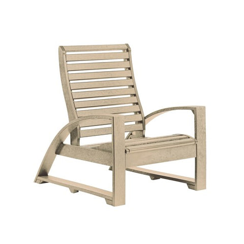 C30 LOUNGE CHAIR BEIGE 07 CR PLASTICS