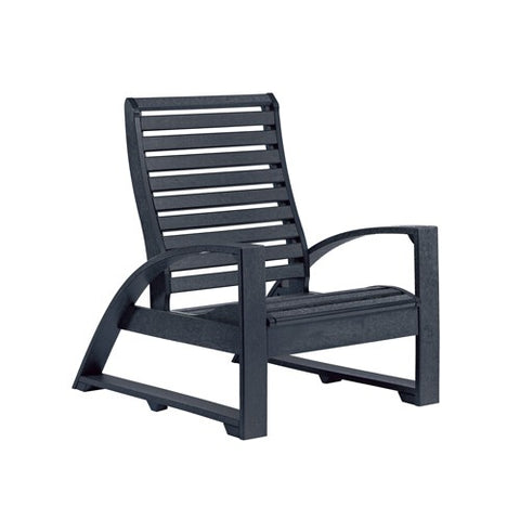 C30 LOUNGE CHAIR BLACK 14 CR PLASTICS