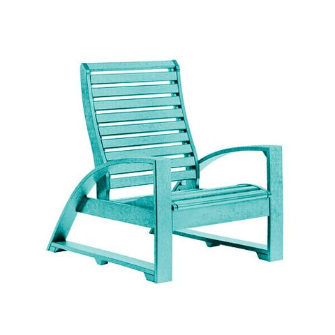 C30 LOUNGE CHAIR TURQUOISE 09 CR PLASTICS