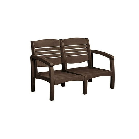 CR PLASTICS DSF162 LOVESEAT FRAME CHOCOLATE